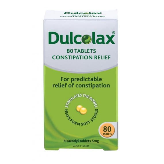 Dulcolax 5mg 80 Tablets