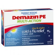 Demazin PE Multi Action Day & Night Cold & Flu 24 Tablets