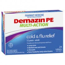 Demazin PE Cold & Flu Multi Action 24 Tablets