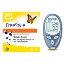 Abbott Freestyle Lite Blood Glucose Monitoring System