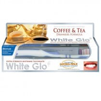 White Glo Toothpaste Extra Strength Coffee & Tea 150g