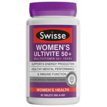 Swisse Womens Ultivite 50+ 90 Tablets