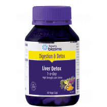Henry Blooms Liver Detox 1-A-Day 60 Capsules