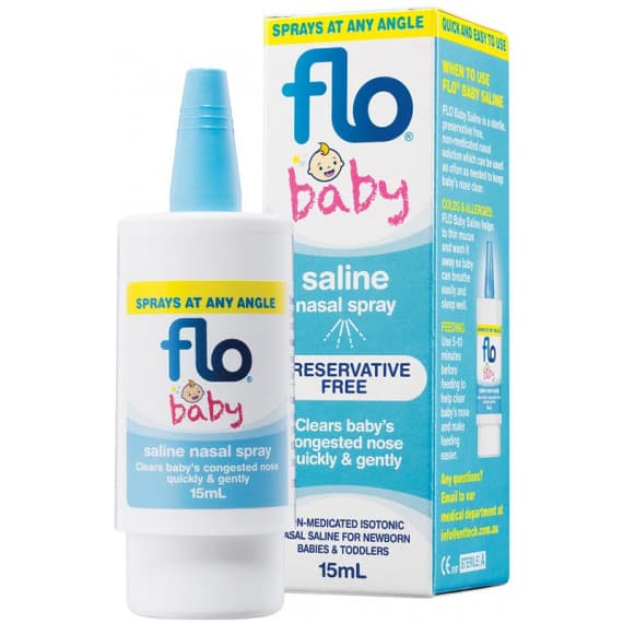 Flo Saline Nasal Spray For Babies 15ml