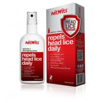 NitWits Anti Lice & Detangling Spray 125ml