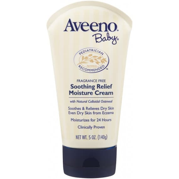 Aveeno Baby Fragrance Free Soothing Relief Moisture Cream 139g