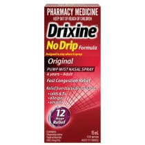 Drixine No Drip Nasal Spray 15ml
