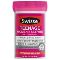 Swisse Teenage Womens Ultivite 60 Tablets