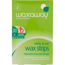 Waxaway Ready to Use Wax Strips 20 Pack