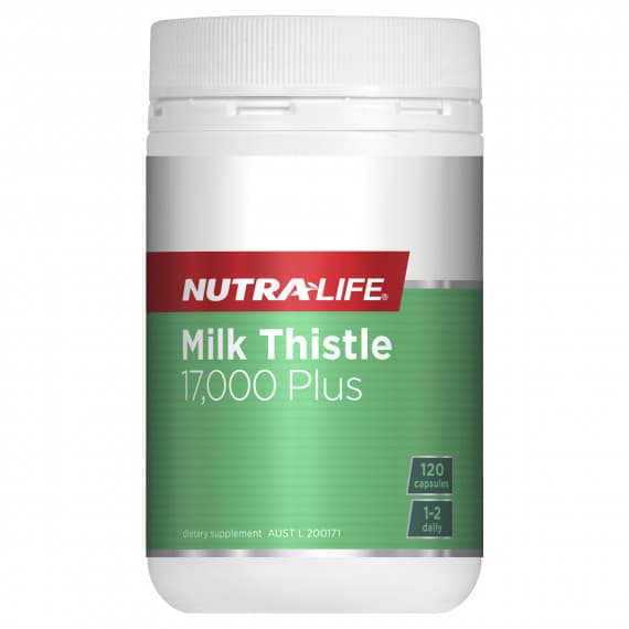 Nutra Life Milk Thistle 17000 Plus 120 Capsules
