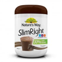 Natures Way SlimRight Shake Chocolate 375g