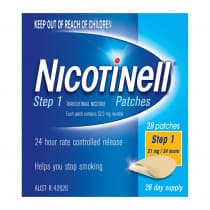 Nicotinell Patches Step 1 21mg 28 Patches
