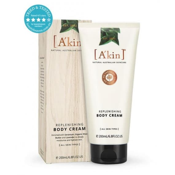 Akin Replenishing Body Cream 200ml