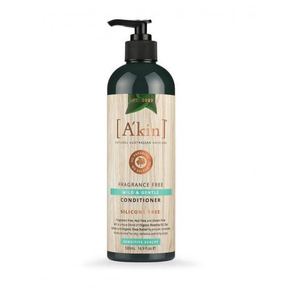 Akin Mild & Gentle Fragrance Free Conditioner 500ml