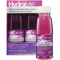 Hydralyte Electrolyte Solution Apple Blackcurrant 4 x 250ml