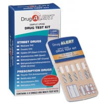 Drug Alert Street Drugs & Prescription Drugs Test Kit 5 Tests