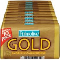 Palmolive Daily Deodorant Protection Soap Gold 10 Pack