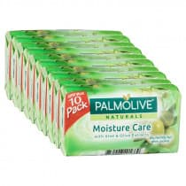 Palmolive Naturals Moisture Care Aloe & Olive Soap 10 Pack
