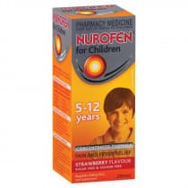 Nurofen Children 5 To 12 Years Strawberry 200ml