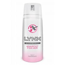 Lynx Body Spray Anarchy For Her 100g