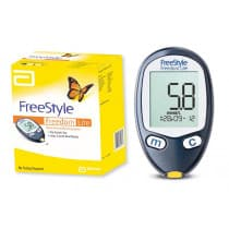 Abbott Freestyle Freedom Lite Blood Glucose Monitoring Kit