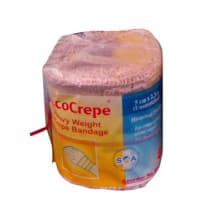 Careplus Ecocrepe Heavy Weight Crepe Bandage Tan 5cm x 2.3m 1 Pack