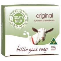 Billie Goat Natures Remedy Original Soap Bar 100g