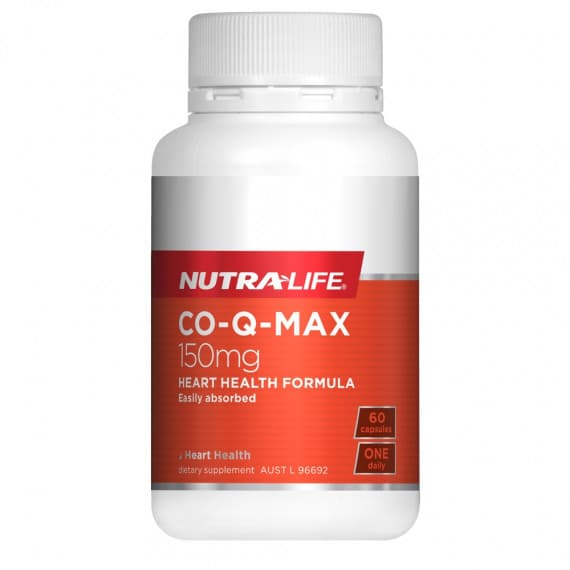 Nutra Life CO-Q-Max 150mg 60 Capsules
