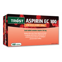 Trust Aspirin EC 100mg 168 Tablets