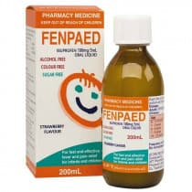 Fenpaed Ibuprofen Oral Liquid 200ml