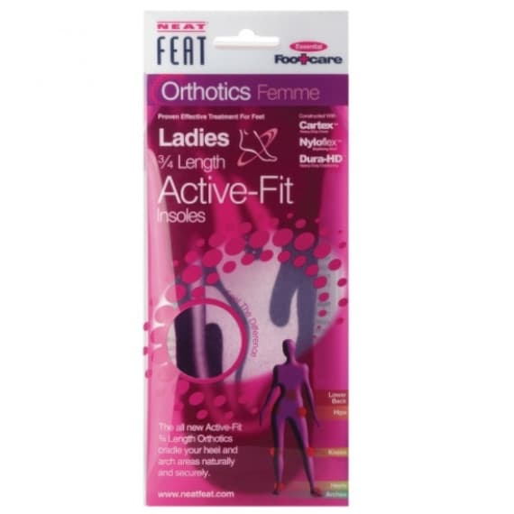 Neat Feat Femme ¾ Length Active Fit Insoles Medium