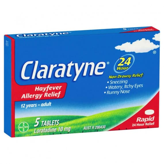 Claratyne Hayfever & Allergy Relief Rapid 5 Tablets