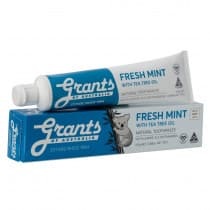 Grants of Australia Fresh Mint Toothpaste 110g