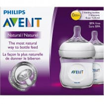 Avent Natural Feeding Bottle 125ml 2 Pack