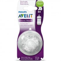 Avent Natural Slow Flow Teat 2 Pack