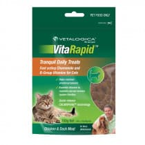 Vetalogica VitaRapid Tranquil Daily Treats For Cats 100g