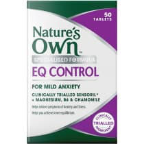 Natures Own EQ Control 50 Tablets