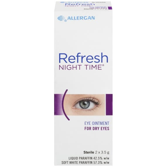 Refresh Night Time Eye Ointment 2 x 3.5g