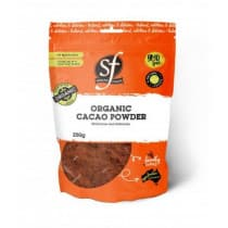 SF Health Foods Cacao Powder Organic 250g