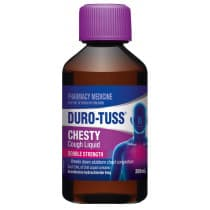 Durotuss Double Strength Chesty Cough Liquid 200ml