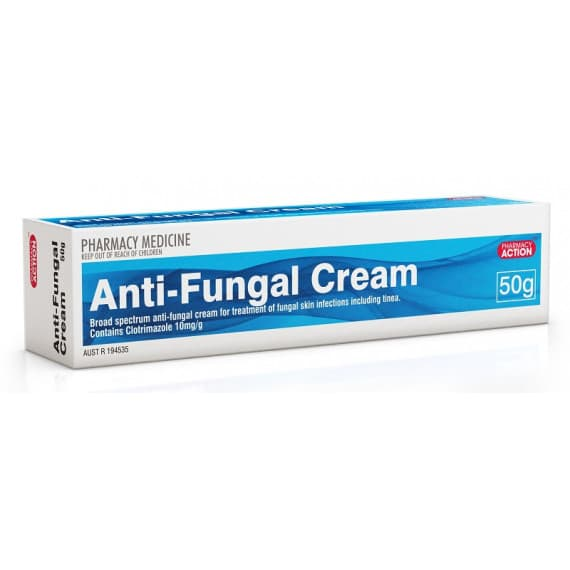 Pharmacy Action Anit-Fungal Cream 50g
