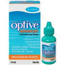 Optive Advanced Lubricant Eye Drops 15ml