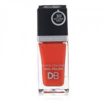 Designer Brands Quick Colour Nail Polish Orange Red