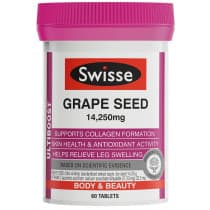 Swisse Ultiboost Grape Seed 14250mg 60 Tablets