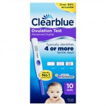 Clearblue Advanced Digital Ovulation Test 10 Test