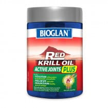 Bioglan Red Krill Oil Active Joints Plus 90 Capsules