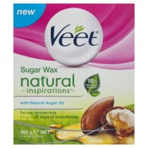 Veet Natural Inspirations Warm Wax With Argan Oil 360g