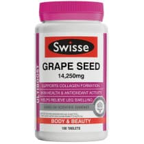 Swisse Ultiboost Grape Seed 14250mg 180 Tablets