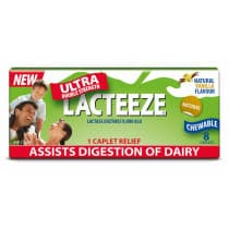 Lacteeze Ultra Double Strength Caplets 8 Caplets