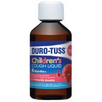 Durotuss Childrens Cough Liquid Strawberry 200ml